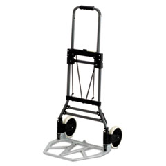 Picture of Stow-Away Medium Hand Truck, 275lb Capacity, 19w x 17 3/4d x 38 3/4h, Aluminum