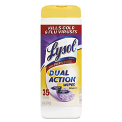 Picture of Disinfecting Wipes, Dual Action, Citrus, 7 x 8, 35/Canister
