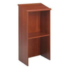 Picture of Stand-Up Lectern, 23w x 15-3/4d x 46h, Cherry