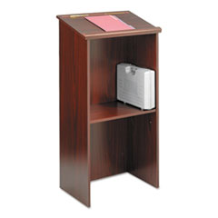 Picture of Stand-Up Lectern, 23w x 15-3/4d x 46h, Mahogany