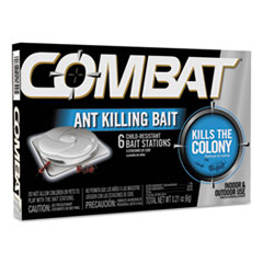 Picture of Combat Ant Killing System, Child-Resistant, Kills Queen & Colony, 6/Box