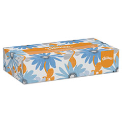 Picture of White Facial Tissue, 2-Ply, Pop-Up Box, 100/Box