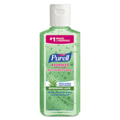 Picture of Advanced Instant Hand Sanitizer w/Aloe, 4oz Flip-Cap Bottle, 24/Carton