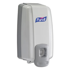 Picture of NXT Instant Hand Sanitizer Dispenser, 1000mL, 5 1/8w x 4d x 10h, WE/Gray