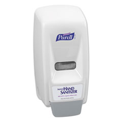 Picture of Bag-In-Box Hand Sanitizer Dispenser, 800mL, 5 5/8w x 5 1/8d x 11h, White