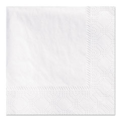 Picture of Beverage Napkins, 2-Ply 9 1/2 x 9 1/2, White, Embossed, 1000/Carton