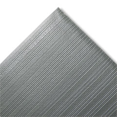 Picture of Ribbed Anti-Fatigue Mat, Vinyl, 27 x 36, Gray