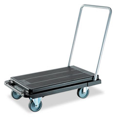 Picture of Heavy-Duty Platform Cart, 500lb Capacity, 21w x 32 1/2d x 37 1/2h, Black