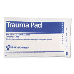 "Picture of Trauma Pad, 5"" x 9"""
