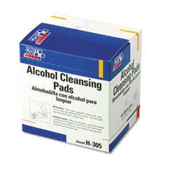 Picture of Alcohol Cleansing Pads, Dispenser Box, 100/Box