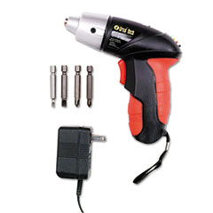 Picture of 4.8V Cordless Screwdriver, 4 Bits, 200RPM