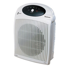 Picture of 1500W Heater Fan w/ALCI Heater, Plastic Case, 10 1/4 x 6 1/2 x 12 1/2, White