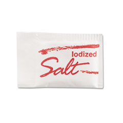 Picture of Salt Packets, .75 Grams, 1000 Packets/Box, 3 Boxes/Carton