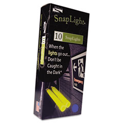 """Picture of Snaplights, 6""""l x 3/4""""w, Blue, 10/Pack"""