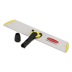 Picture of HYGEN Quick Connect S-S Frame, Wet/Dry Mop 18w x 3 1/2d, Aluminum, Yellow