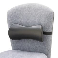 Picture of Lumbar Support Memory Foam Backrest, 14-1/2w x 3-3/4d x 6-3/4h, Black