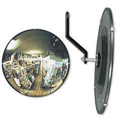"Picture of 160 degree Convex Security Mirror, 18"" dia."