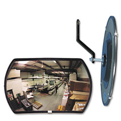 """Picture of 160 degree Convex Security Mirror, 18w x 12"""" h"""