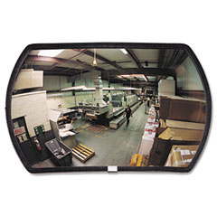 """Picture of 160 degree Convex Security Mirror, 24w x 15"""" h"""