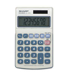 Picture of EL240SB Handheld Business Calculator, 8-Digit LCD
