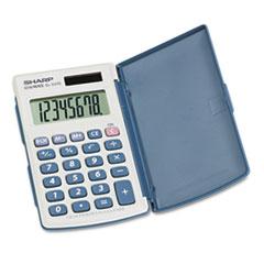 Picture of EL-243SB Solar Pocket Calculator, 8-Digit LCD