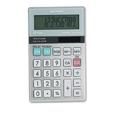 Picture of EL377TB Handheld Business Calculator, 10-Digit LCD