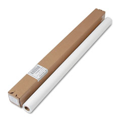 """Picture of Table Set Plastic Banquet Roll, Table Cover, 40"""" x 100ft, White"""