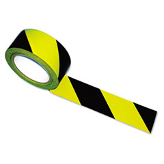 Picture of Hazard Marking Aisle Tape, 2w x 108ft Roll