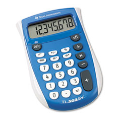 Picture of TI-503SV Pocket Calculator, 8-Digit LCD