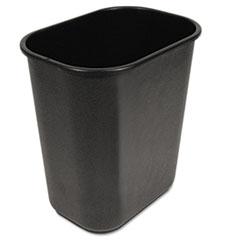 Picture of Soft-Sided Wastebasket, 28qt, Black