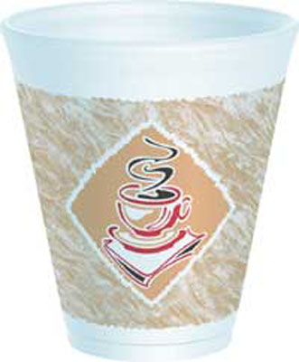 Picture of 12 oz Cafe G Foam Cup