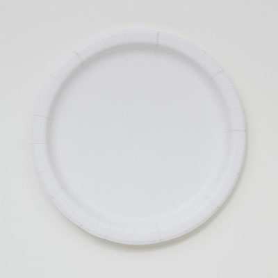 """Picture of Paper Plate White Coated 7""""  14pt"""