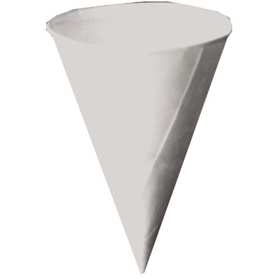Picture of Drywax Cone Cup With Rolled Rim