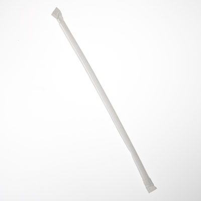 """Picture of Straw Jumbo 10-1/4"""" Paper Wrapped"""