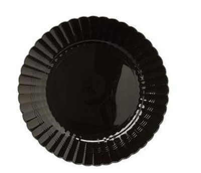 """Picture of 9"""" Black Dinner Plate"""
