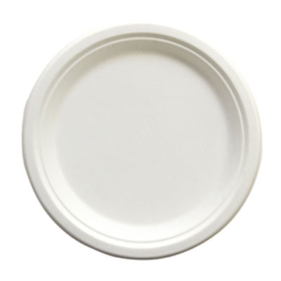"""Picture of 9"""" Heavy Plate Natural White"""