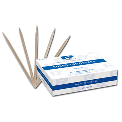 """Picture of 7.5"""" Wrapped Wood Stirrers"""