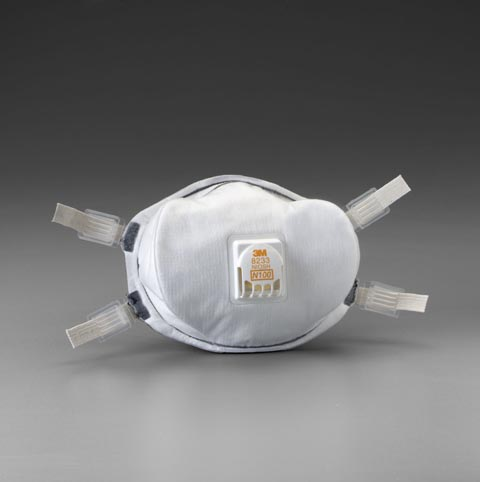 Picture of 3M Particulate Respirator 8233, N100
