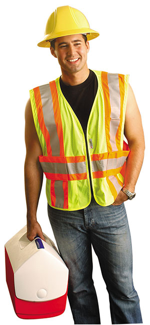 Picture of Class 2 Premium Expandable Two-Tone Mesh Vest