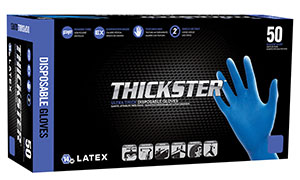 Picture of THICKSTER Latex Gloves