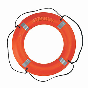 Picture of Type IV Ring Buoy and Buoy Bag