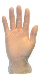Picture of Gloves, Medium, Vinyl,  Powdered, General Purpose, 100 EA/BX