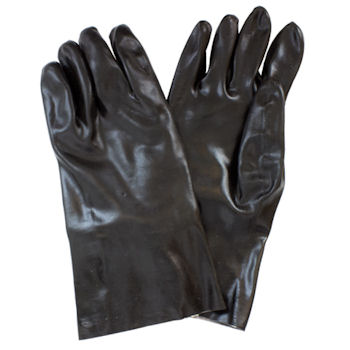 "Picture of Glove, 12"", PVC, Smooth  Finish, Single Dipped"