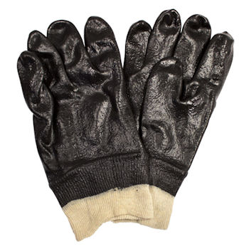Picture of Glove, PVC, Pimple Finish,  Single Dipped, Interlock Lining