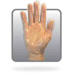 Picture of Deli Glove, XL, Cast,  Poly/CPE, Embossed, 100 EA/BX