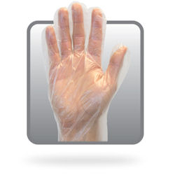 Picture of Glove, Large, Polyethylene.,  Disposable, 100 EA/BX