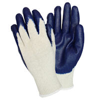 Picture of Gloves, Large, Latex Coated  Knit, Smooth Grip