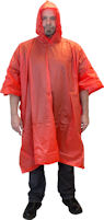 Picture of Rain Poncho, One Size Fits All, Disposable