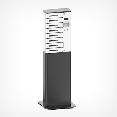 Picture of Charging Locker, 8 Chamber,  With UV-C, Stand