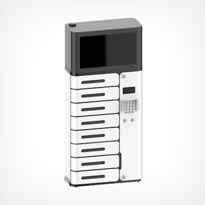 Picture of Charging Locker, 8 Chamber,  With UV-C, Screen